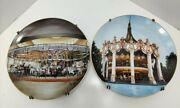 Columbia Carousel Six Flags Great America Willitts Gallery Collectors Plate