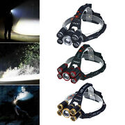 Rechargeable Led Headlamp 18650 Headlight Outdoor Camping Running Head Torch