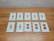 Lot Of Maryland China Japan Porcelain 7 Light Switch Covers 3 Outlet Covers