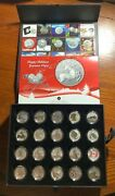 Canada 2011-2015 Complete 20 For 20 And 25 For 25 Coin Set (410 Face Value