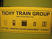 2522 Window And Door Assortment N Scale By Tichy Group