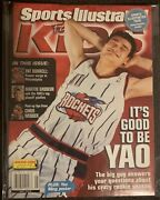 Lebron James May 2003 Sports Illustrated Issue With Uncut Card Inside Mint . 🔥