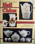 Antique Hall China Pottery Id Price Guide Collector's Book