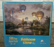 New Nicky Boehme Balloon Glow Jigsaw Puzzle Sunsout 1,500 Piece 33x24 Sealed