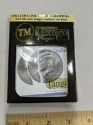 Bite Out Half Dollar W/ Extra Piece - Magic Coin Tango Products Professional