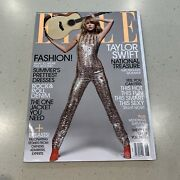 Taylor Swift Elle Magazine June 2015 Newsstand Issue No Label Sleater Kinney