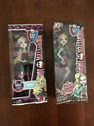 Two Monster High-frights Camera Action Black Carpet/dance Class-lagoona Blue