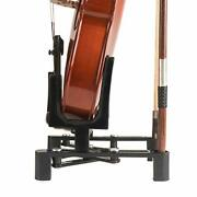 Violin Stand Musical Instrument Stand With Bow Holder For Violinportable And ...