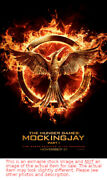 The Hunger Games Mockingjay Part 1 - 2014 Original Movie Theater Poster 27x40