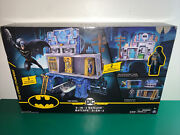 Batman 3-in-1 Batcave Playset With Exclusive 4 Action Figure And Battle Armor.