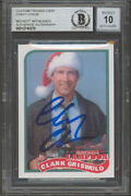 Chevy Chase Christmas Vacation Signed Custom Trading Card Auto 10 Bas Slabbed 1