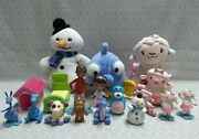 Disney Doc Mcstuffins Plush And Figure Lot Lambie Stuffy Chilly Squeakers Moo Moo