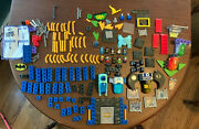 Fisher Price Trio Batcave Super Mega Set- Used With Directions- Huge Lot