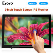 Eyoyo 9 Inch Touch Screen Ips Monitor Display 19201200 Fit Mac Laptop Xbox One