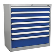 Industrial Cabinet 7 Drawer Sealey Api9007 By Sealey