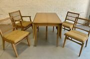 Mid Century Modern Dining Set By Red Lion Furniture