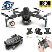 Brushless 3-axis Gimbal 4k Hd Kamera Rc Drohne 5g Wifi Gps Rc Quadcopter Drone