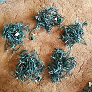 Lot Of 7 Decoration / Christmas String Lights - Used