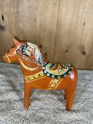 Antique Swedish Hand Made Dala Horse From Early 1900´s 8,1 High