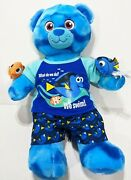 Disney Pixar Finding Dory Build A Bear With Outfit Wristbands And Mini Nemo