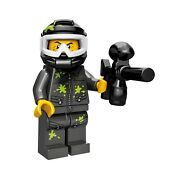 Lego - Series 10 - Collectible Minifigures 71029 - 9 Paintball Player - Bee
