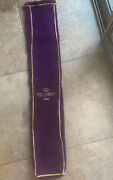 Scotty Cameron Crushed Velvet Putter Bag With Satin Lining - 2006 Crown Royal -