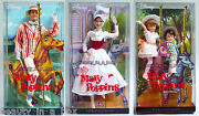 Mary Poppins Bert Jane And Michael Barbie Doll Excellent Box Collecto Disney Lot 4