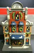 Dept 56 Porcelain Christmas In The City Series Scotties Toy Shop Gift Set 58871