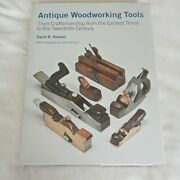 Antique Woodworking Tools Book By David Russell Like New