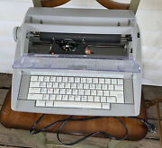 Brother Sx-4000 Portable Electronic Typewriter Works With Hard Keyboard Cover