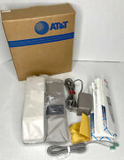 Atandt 5400 10 Channel Cordless Phone Desk/wall Telephone Complete Vintage New Nos