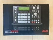 Akai Mpc1000bk Sampler Operation Unconfirmed Musical Instrument Nearly Unused