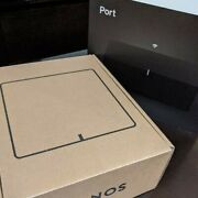 Sonos Connect Port Network Audio Receiver Airplay Wi-fi Streaming Port1jp1blk