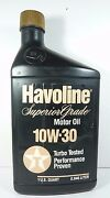 Havoline Texaco Oil Bottle Can Oversize Bank Part Store Display Gas Station Sign