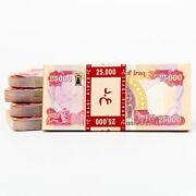 New Iraqi Dinar - 500000 25k Iqd W/ New 2018 Security Features Uncirculated