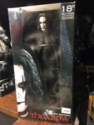 The Crow 18 Motion Activated Sound Eric Draven Action Figure 2004 Doll