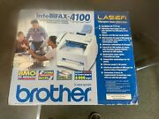 New In Box Brother Intellifax 4100 Business-class Laser Fax Machine, Fax4100
