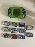 Leapfrog Leapster 2 Learning Game System Handheld Console With 11 Games