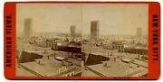 Lot Of 3 Brooklyn / East River Bridge Stereoviews 1870s Constr /1883 Accident