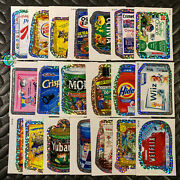 Topps 2010 Ans7 Wacky Packages Wack-o-mercials Flash Foil Set All-new Series 7
