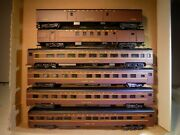Rivarossi Ho Scale Pennsylvania 6 Cars One Lighted New