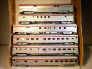 Rivarossi Ho Scale Southern Pacific Vintage 6 Cars 1 Walthers