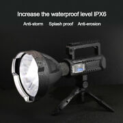 Portable 80000lm P70 Led Flashlight Usb Rechargeable 4modes Work Light Tent Lamp