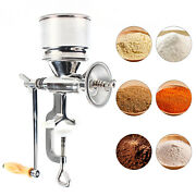 Manual Hand Mill Grinder For Grains, Corn, Beans Stainless Steel Hand Crank Us