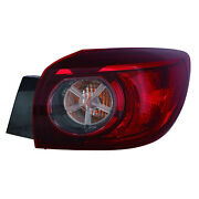 Ma2805115 New Replacment Passenger Side Outer Tail Light Assembly Capa