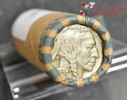 Buffalo Nickel Mixed Years Roll 40 Coins 2 Face - Vg And Better