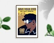 Photo Save Your Eyes, Use Your Goggles, Wpa Illinois Safety Division, Eye Prote