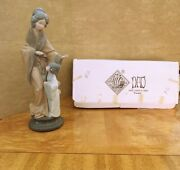 Lladro Nao Geisha Oriental Mother With Child Mint Condition W Box 279 Rare