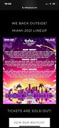 4 Rolling Loud Miami. 3 Day Epic Music Festival. 4 Wristbands Ready To Go