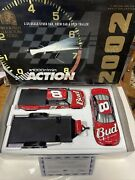 2002 Ccc Dale Earnhardt Jr 8 Budweiser Trackside Collection Scale 124
